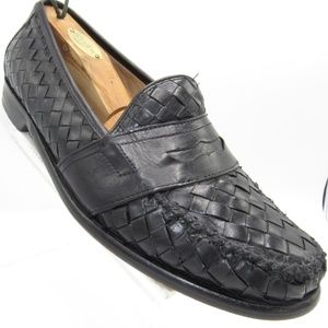 Cole Haan C03325 Size 9.5 Black Loafer Mens Shoes